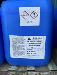 Phosphoric Acid 85% (IMPORTED) Industrial Grade (Green Mountain, LTD)
