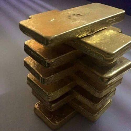 Gold Dore Bars, सोने की ईंट, Gold & Gold Jewellery | MNH
