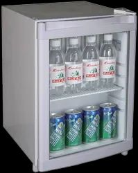 Single Door White Mini Bar Fridge - Elanpro, Capacity: 60 Liter