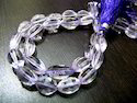 African Amethyst Briolettes Beads