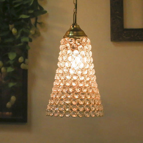LED, Incandescent Modern/Contemporary Crystal Hanging Pendant Inverted Cone For Dining Room
