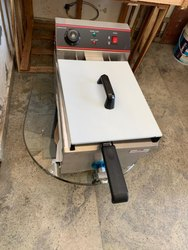 Commercial Table Top Electric Fryer with Tap
