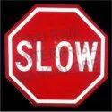 Acp Sheet Octogun Highway Stop Sign Boards