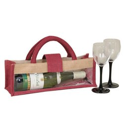 Jute Wine Packing Bag