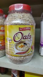 Go healthy White Oats, High in Protein