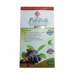 Diabetes Herbal FORDIAB Capsules, 30 Veggie Capsules, Packaging Type: Box