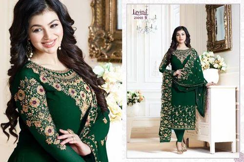 Georgette Embroidered Designer Salwar Kameez Suit Rs 1199 Piece