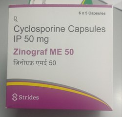 Cyclosporine capsule 50 mg
