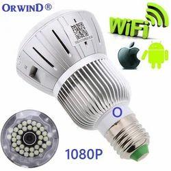Spy Bulb Camera Wireless CCTV