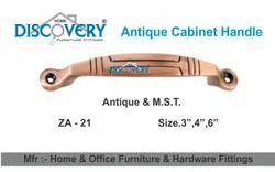 Calibar Zinc Cabinet Handle