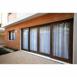 Teak Wood Modern Externals Wooden Window, Size/Dimension: 7x10 Feet, Rectangular