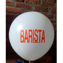 Barista Balloon