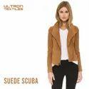 Plain Suede Scuba Fabric