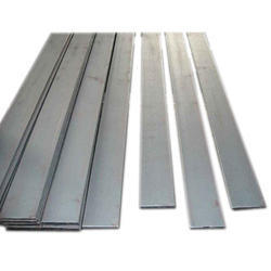 Rectangular Silver Stainless Steel Bright Flat Bar 304 and 304L, Size: 1-10 mm
