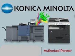 Konica Minolta A3 Photo Copy Machine Cum ID Card Print