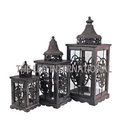 New Design Candle Lantern Set of 3
