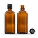 Glass 100 Ml Amber Dropper Bottle