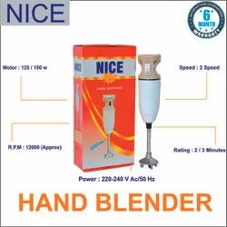Nice 250 W Electric hand blender, Packaging Type: Box