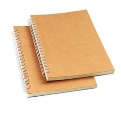 Double Line Spiral Bound School Notebook, For College