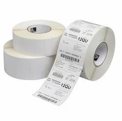 Blank Barcode Label