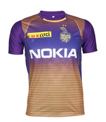 New Kolkata Knight Riders 2019 IPL Jersey with all Logos