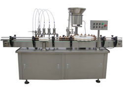 4 Head Filling And Capping Machine