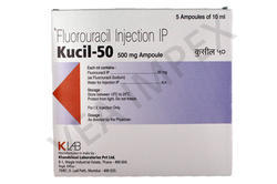Kucil-50 500mg (Fluorouracil Injection)