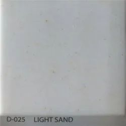 Light Sand Acrylic Solid Surface