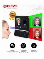 Temperature Check Face Biometric Attendance System With Display of Abnormal Temperature