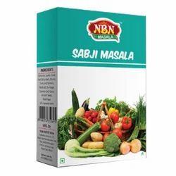 NBN Sabji Masala, Packaging: 50 g