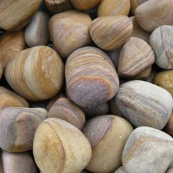 Rainbow Sandstone Pebbles