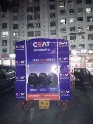 LED Mobile Vans Advertisement Services