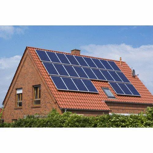Residential Rooftop Solar Panel At Rs 58000 Kilowatt