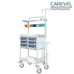MS Plastic Cabinet Crash Cart