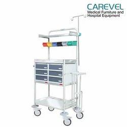 Carevel MS/Plastic Cabinet Crash Cart