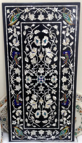 Marble Mother Of Pearl Inlay Table Top