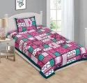 Single Bedsheet with Pillow Cover