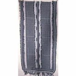 Cotton/ Wool Yarn Dyed Shawls