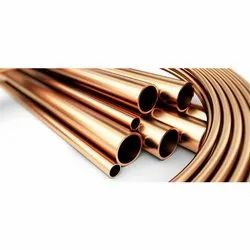 Straight Copper Pipe AC Gas Copper Pipe, for Air Condition, Size: 3
