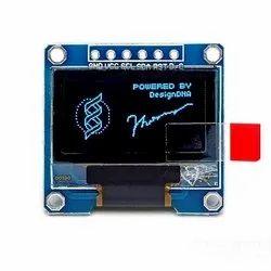0.96 Inch 6pin 128X64 Blue OLED  Display Module