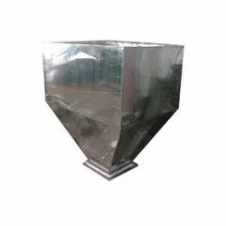 UNIVERSAL Stainless Steel Bottom Discharge Hopper