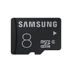 Samsung 8GB Memory Card, MP3 Player And Tablet