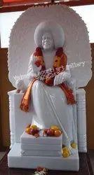 White Marble Sathya Sai Statue