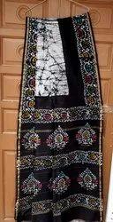 Bagru Hand Batik Chanderi Saree