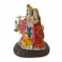 Cow Radha Krishna Statue