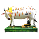 Kamdhenu Cow With Shivling