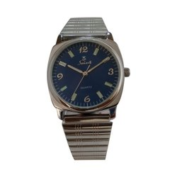 Saint Analog Mens Stainless Steel Wrist Watch, Model Number/Name: Sgss 306
