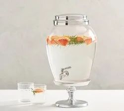 Water Dispensing Jar, Transparent