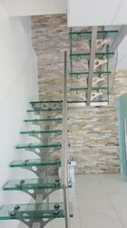 SS Glass Staircase