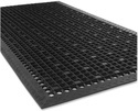 Rubber Floor Mat With Holes And Back Gripper (Anti slip mat)